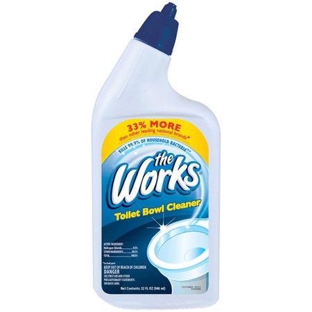 The Works Toilet Bowl Cleaner 32 Fl Oz