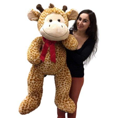 4 Foot Giant Stuffed Giraffe 48 Inch Soft Big Plush Stuffed Animal