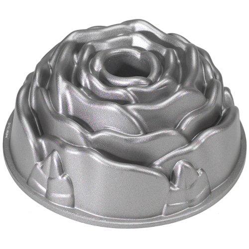 """Nordicware 54148 Rose Bundt Cake Pan 10-cup capacity 8-1/2"""" Diam."""