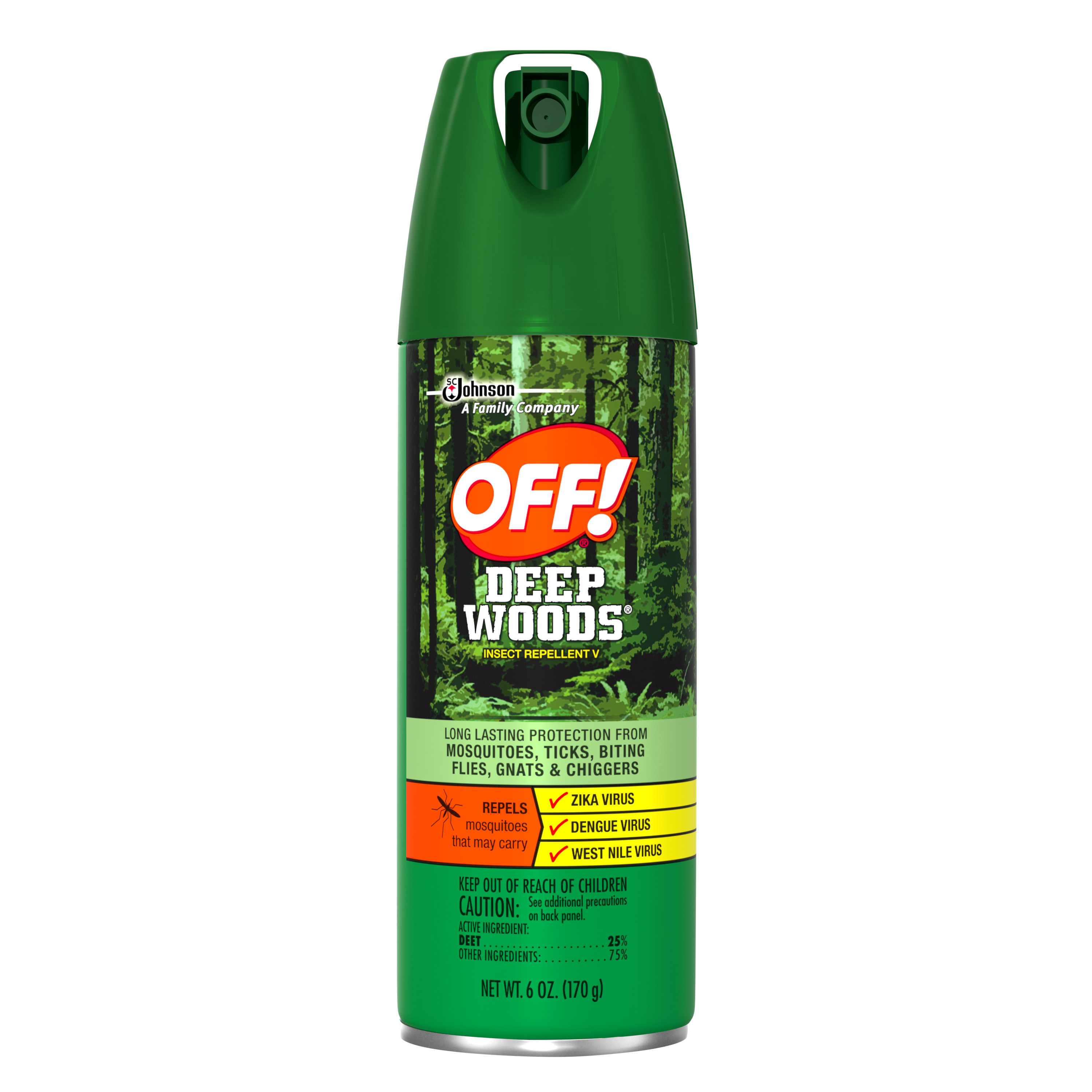 OFF! Deep Woods Insect Repellent, 6oz