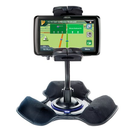 Car / Truck Vehicle Holder Mounting System for Magellan Roadmate 2055 Includes Unique Flexible Windshield Suction and Universal Dashboard Mount Options