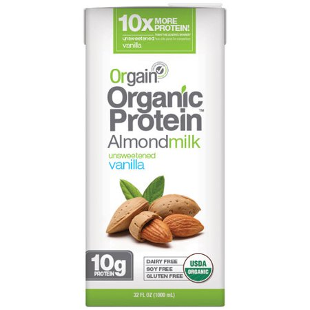 Orgain Unsweetened Vanilla Almond Milk - 32 fl oz