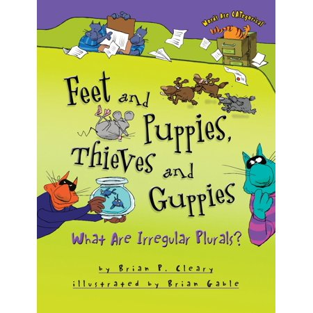 Feet and Puppies, Thieves and Guppies : What Are Irregular (A Positive Word That Starts With R)