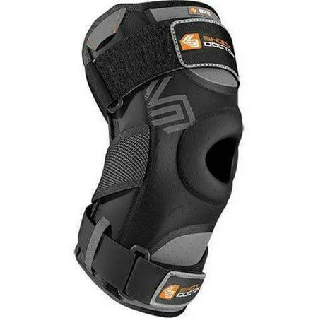 Shock Doctor Knee Support w/ Dual Hinges - Adult (Black)