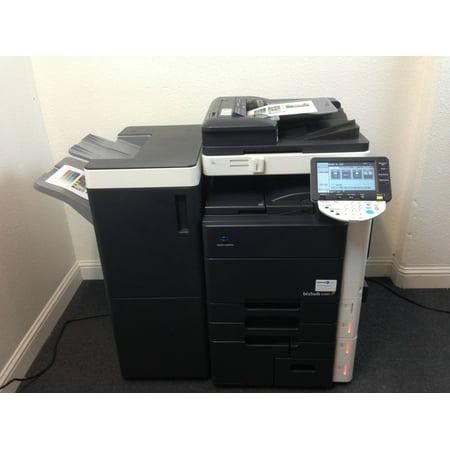 konica minolta bizhub c451 color copier printer scanner fax free