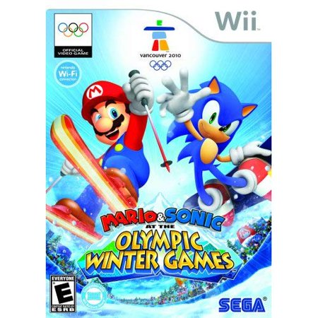 Refurbished Mario And Sonic At The Olympic Winter Games For Wii](Mario For Hire)