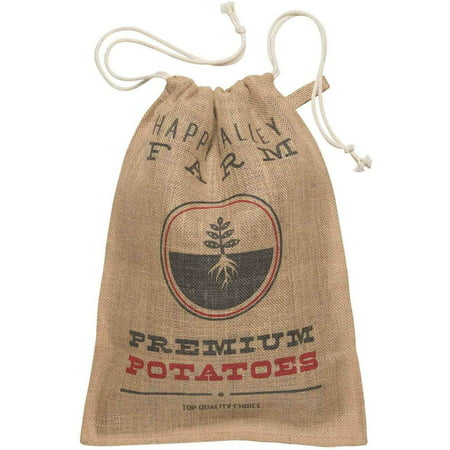 Now Designs Kitchen Burlap Potato - Potatoe Sack