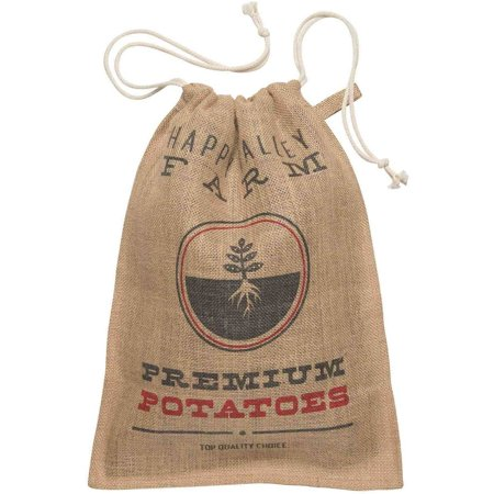 Now Designs Kitchen Burlap Potato Sack](Potato Sacks)