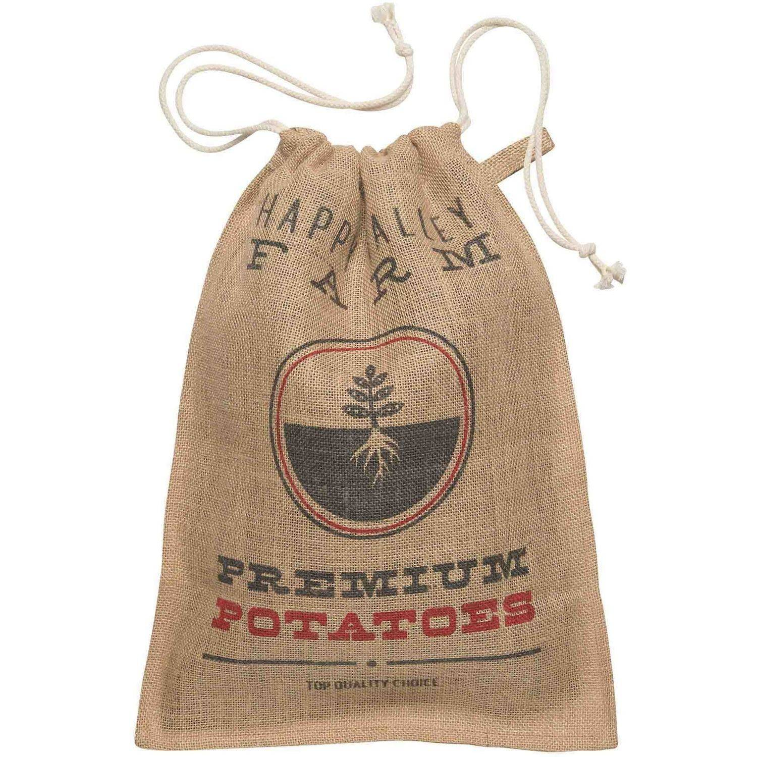 Now Designs Kitchen Burlap Potato Sack