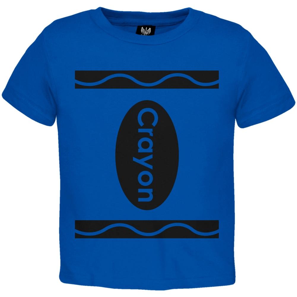 Crayon Costume Toddler Blue T-Shirt
