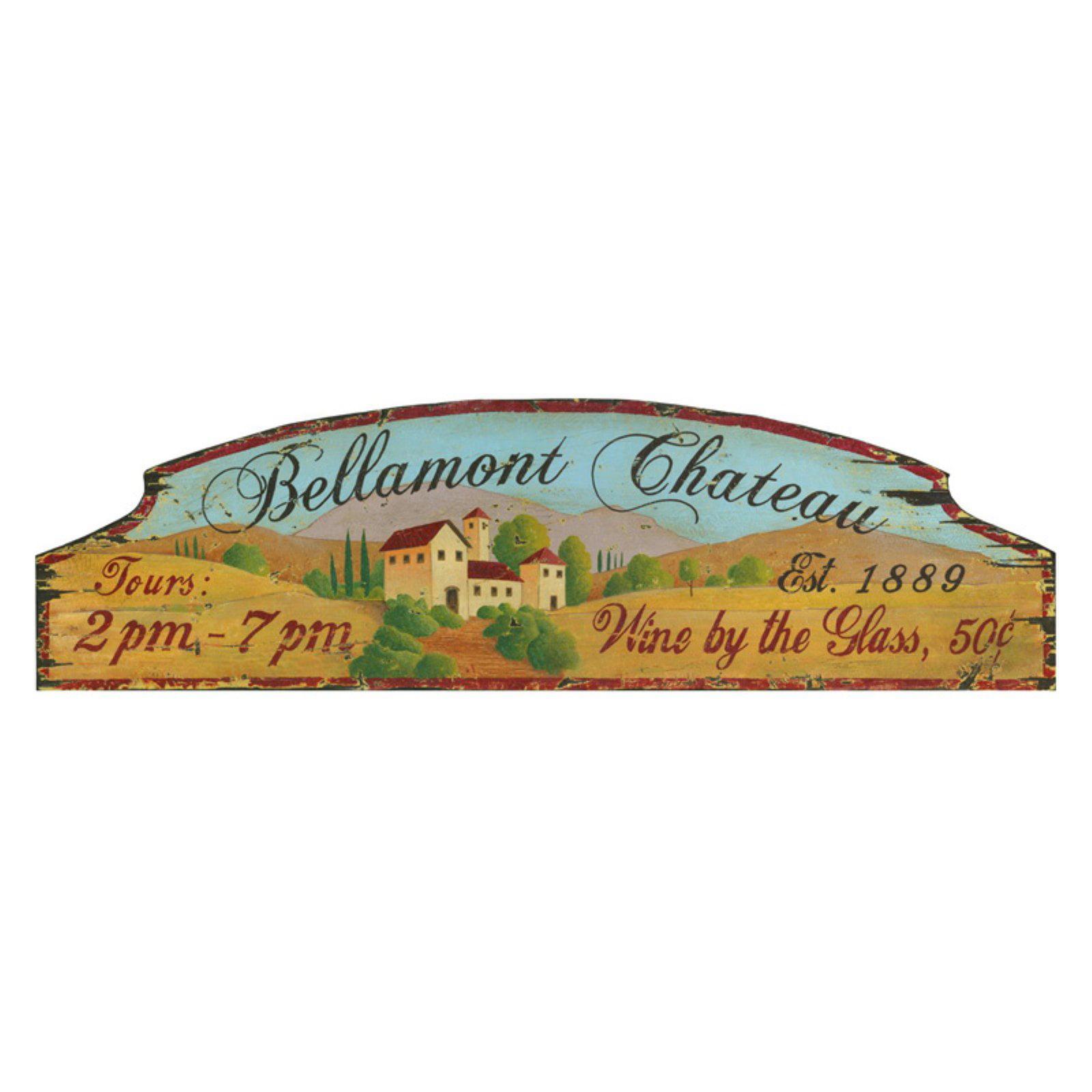 Bellamont Chateau Wall Art - 32W x 11H in.