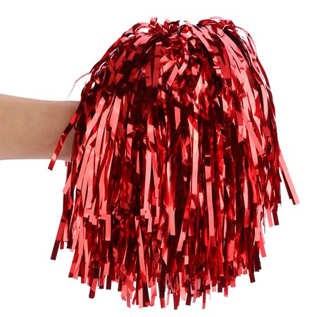 Yosoo 7 Colors 6pcs Cheerleading Pom Poms Party Dance Accessory Sports Pompoms Cheer, Cheerleading Poms, Chear Poms - image 3 of 4