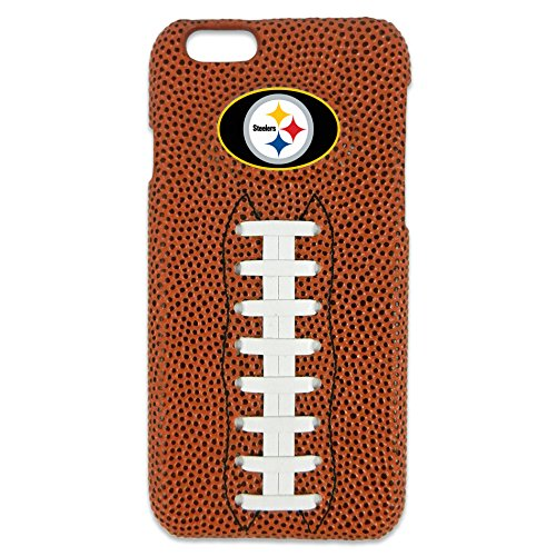 NFL Pittsburgh Steelers Classic Football iPhone 6 Case, Brown
