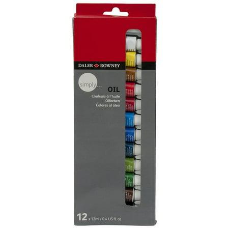 Daler Rowney Oil Paint Reviews