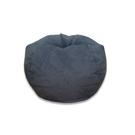 Large Microsuede Bean Bag, Available in Multiple Colors ()