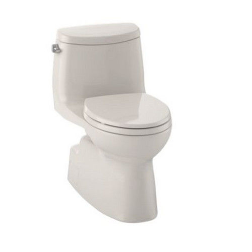 TOTO MS614114CEFG-12 Carlyle II Elongated 1-Piece Floor Mount High Efficiency Toilet (