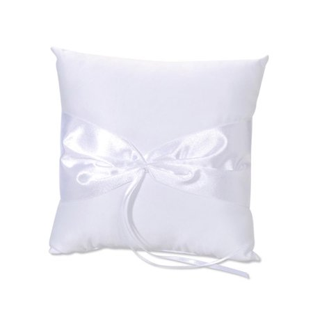 Ring Pillow Design Your Own White (Ring Pillows)
