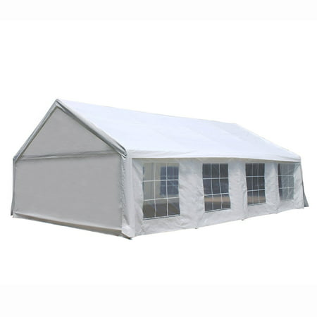 ALEKO Heavy Duty Outdoor Canopy Tent with Windows - 20 X 30 Feet -
