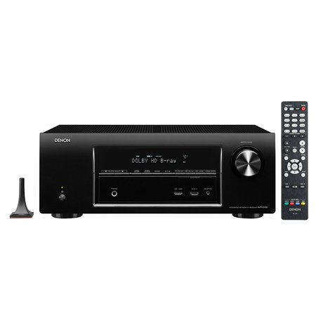 Denon AVR-E400 7.1 Channel 4K and 3D Pass Through Networking Home Theater Receiver with