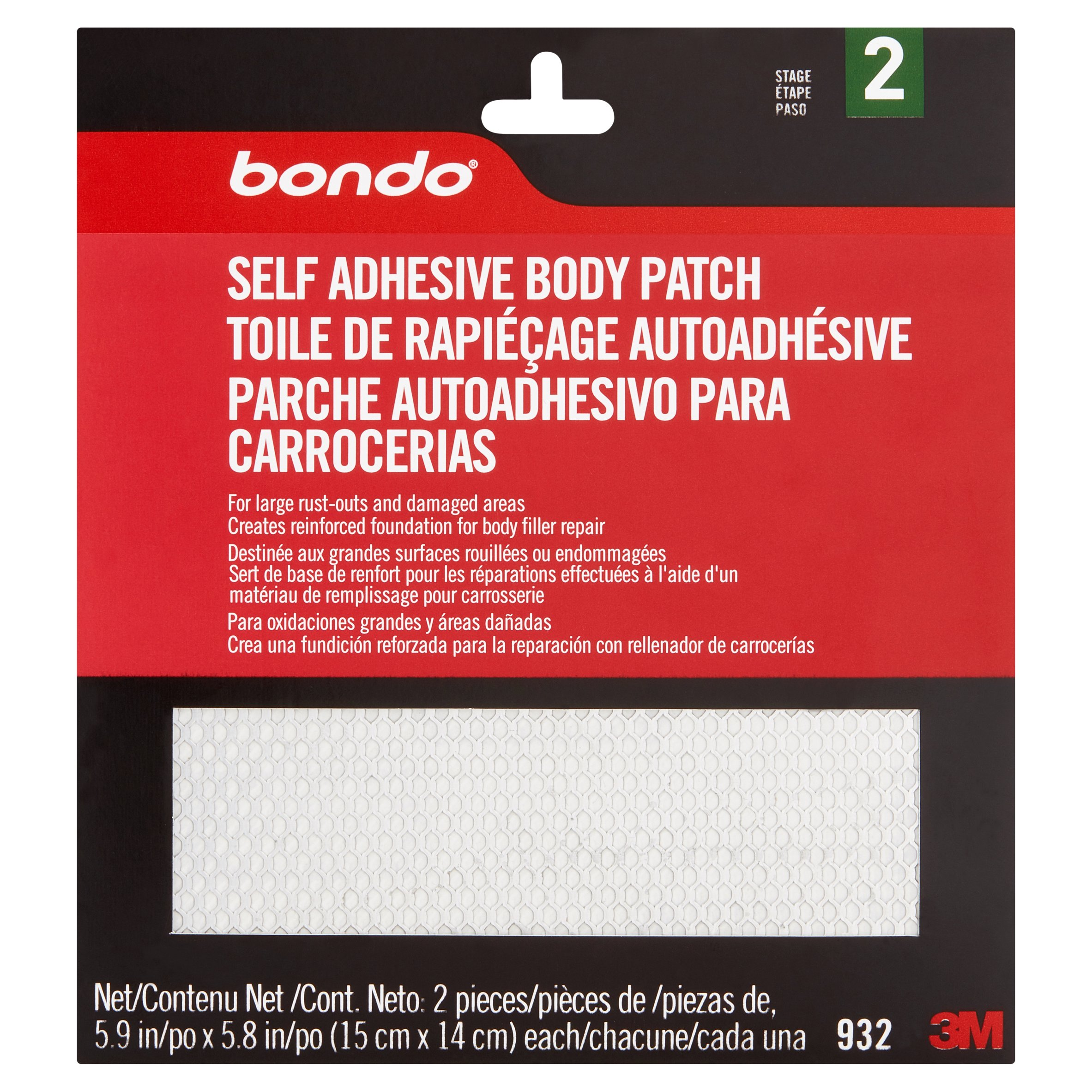 Bondo Self Adhesive Body Patch