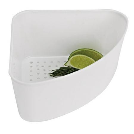 White Corner Sink Strainer Duostrainer Sink Strainer Finish