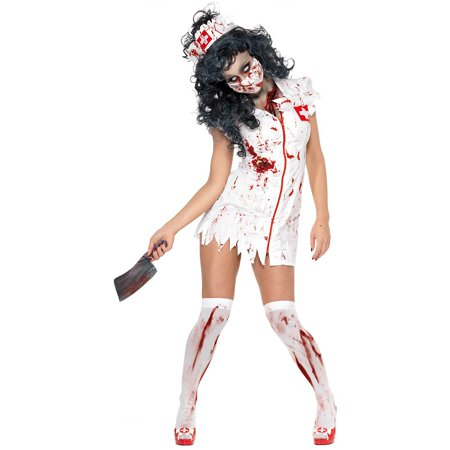 Zombie Nurse Adult Costume - Medium (Zombie Adult)