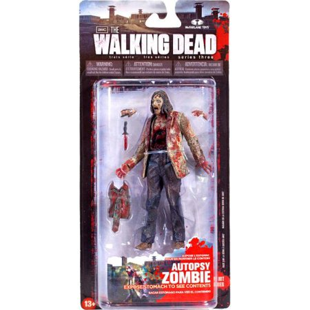 McFarlane Walking Dead Series 3 Autopsy Zombie Action Figure