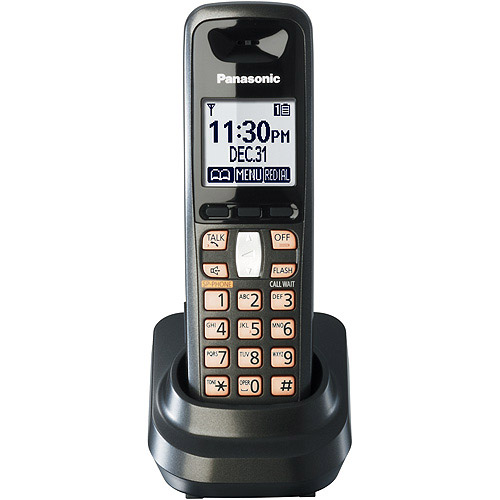 panasonic kx tga641t additional digital handset with talking caller rh walmart com panasonic kx-tga641 operating manual panasonic kx tga641 user manual