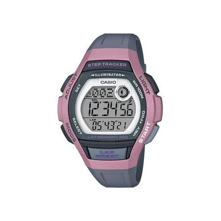 Casio Women's Step Tracker Watch, Pink ()