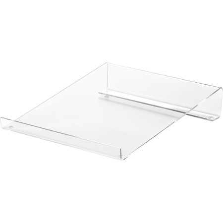 Compucessory Acrylic Large Calculator Stand (Angled Calculator Stand)
