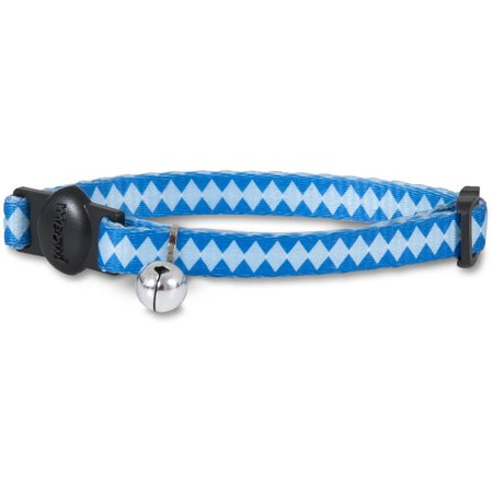 Aspen Pet Adjustable Breakaway Fashion Cat Collar (Black Mandarin Collar Tuxedo)