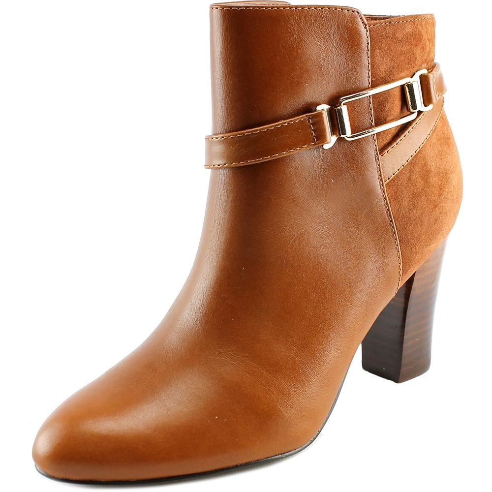 Isola Eppie Women  Round Toe Leather Brown Bootie