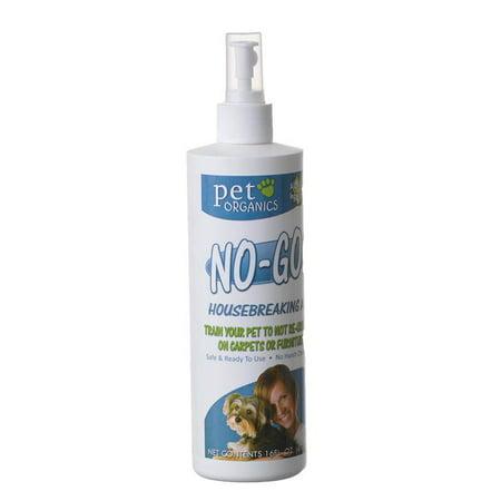 Pet Organics No-Go Housebreaking Aid Spray 16