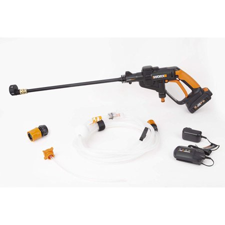 WG625 Worx 20 Volt Battery Power Share Hydroshot Portable Power Washer,