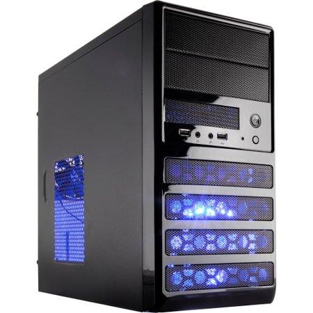 Rosewill Ranger-m Computer Case - Mini-tower - Black - Steel - 5 X Bay - 2 X 3.15
