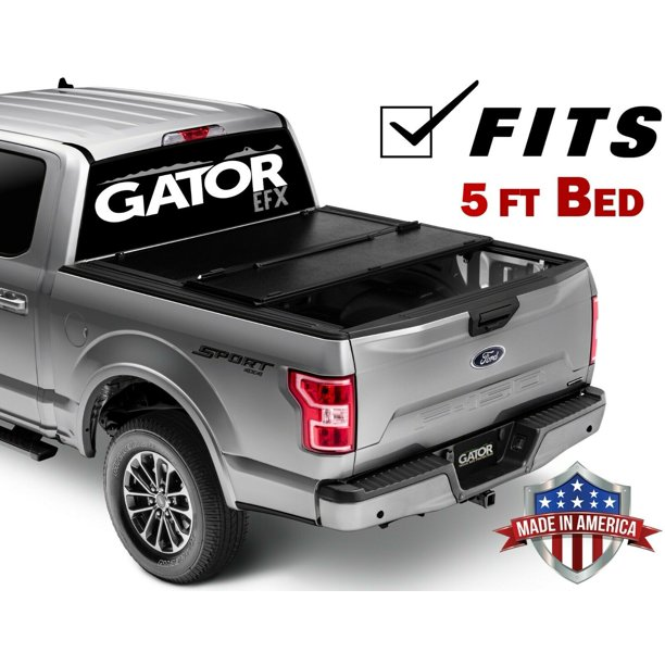 Gator Efx Hard Tri Fold Fits 2016 2019 Toyota Tacoma 5 Ft Bed Only Tonneau Truck Bed Cover Made In The Usa Gc44014 Walmart Com Walmart Com