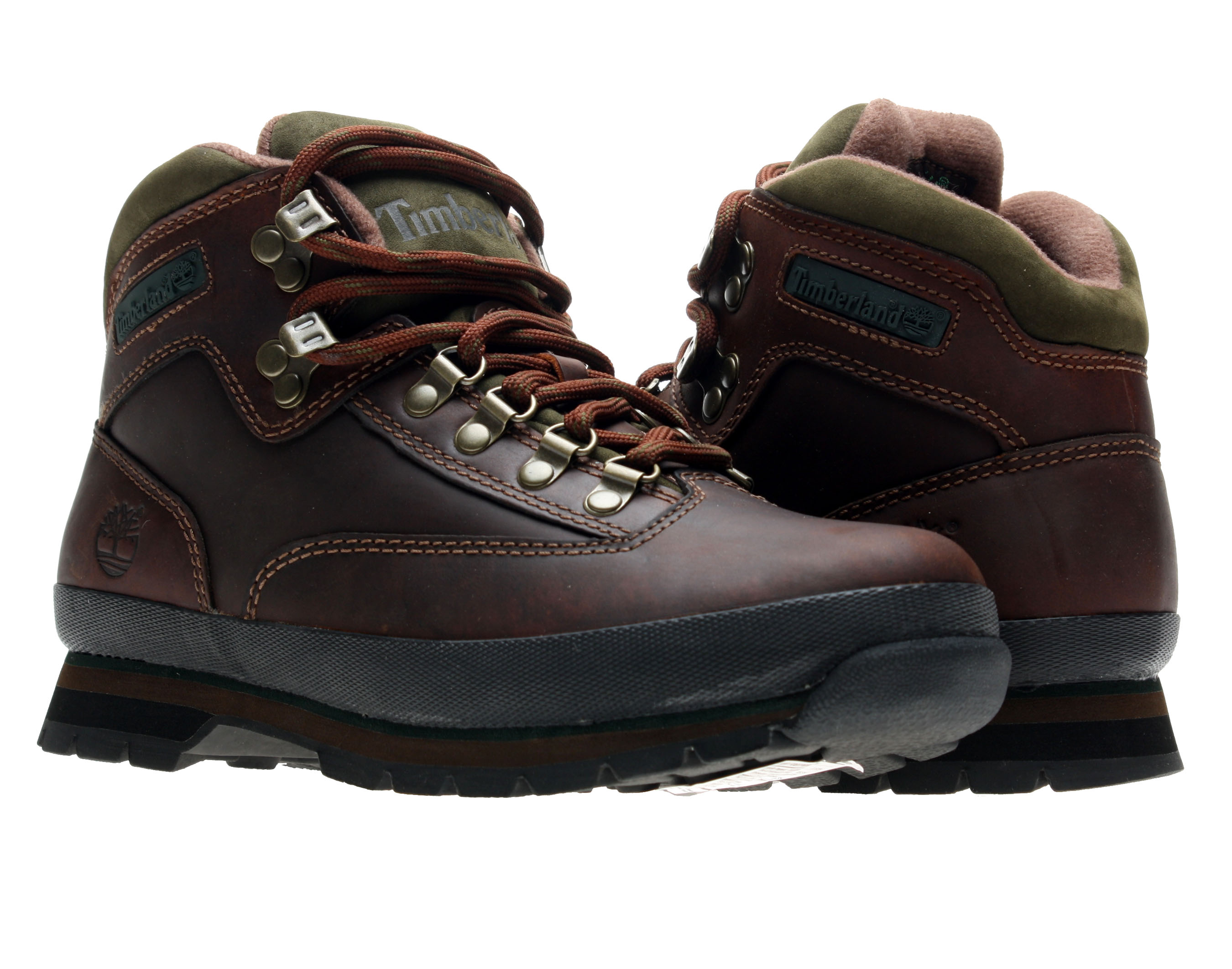 Timberland Euro Hiker Oiled Leather Brown Men's Boots [95100] Size 13 by Timberland