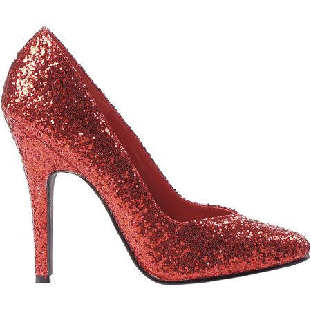 511-Glitter Adult Shoes Red - Size 6](511 Shoes)