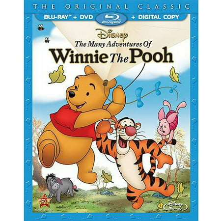 The Many Adventures Of Winnie The Pooh (The Original Classic) (Blu-ray + DVD + Digital
