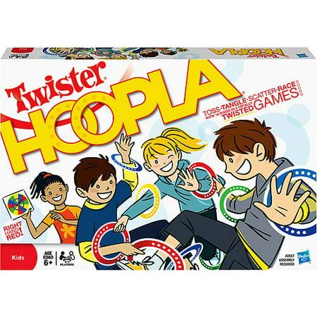 Twister Hoopla Game (Halloween Bend Twister Game)