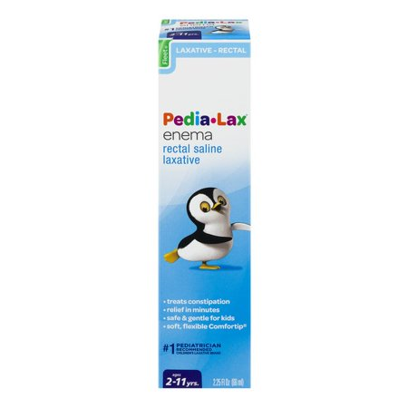 Fleet Pedia-Lax Saline Laxative Enema, 2.25 Fl