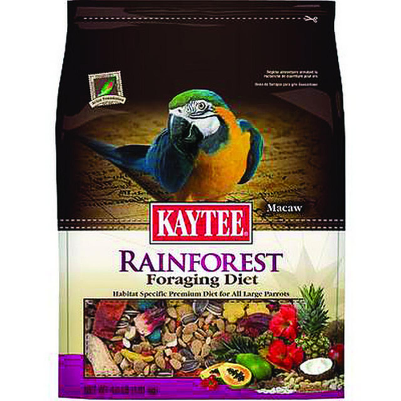 Kaytee 100510208 Foraging Diet Rainforest - Macaw