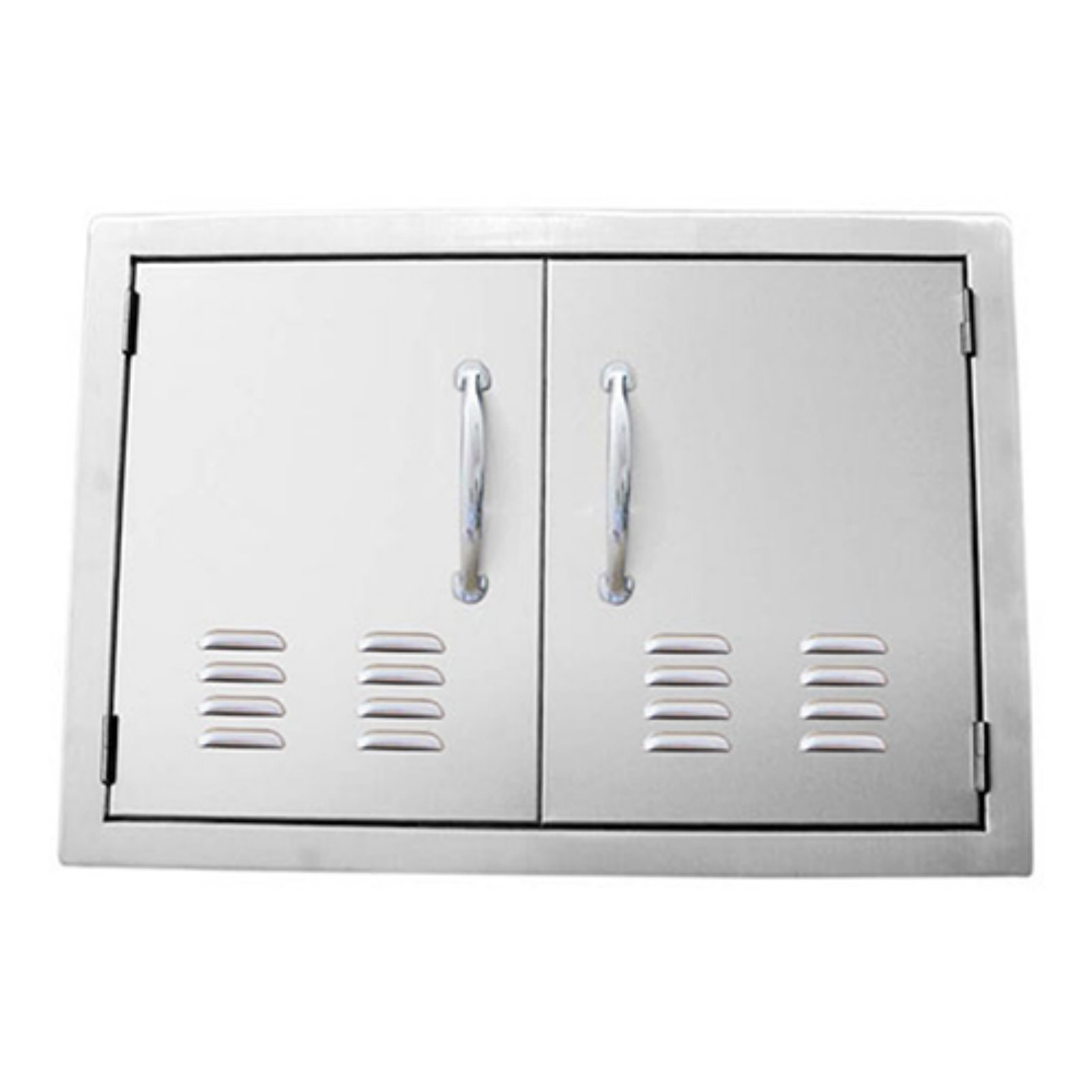Sunstone Grills Classic Series Double Access Flush Mount Doors with Vents