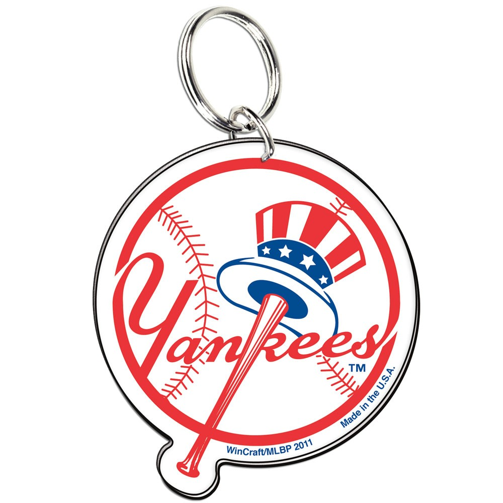New York Yankees Official MLB 3 inch  Key Chain Keychain by Wincraft