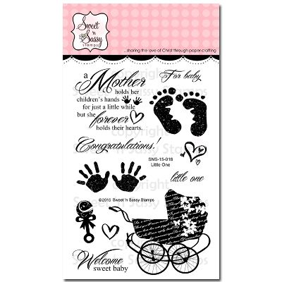 """Sweet 'n Sassy Clear Stamps 4""""X6""""-Little One"""