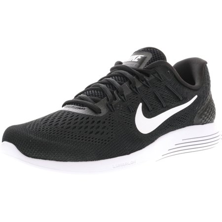 (Nike Men's Lunarglide 8 Black / White-Anthracite Ankle-High Running Shoe - 10.5M)