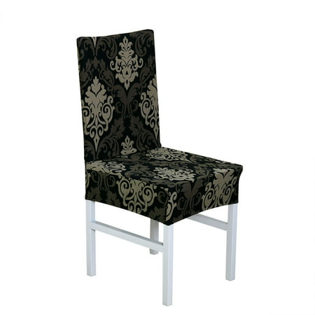 Fantastic Removable Stretch Dining Chair Cover Protector Slipcover For Download Free Architecture Designs Scobabritishbridgeorg