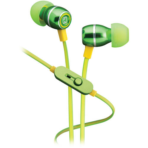 iHome Noise-Isolating Metal Earbuds with Microphone