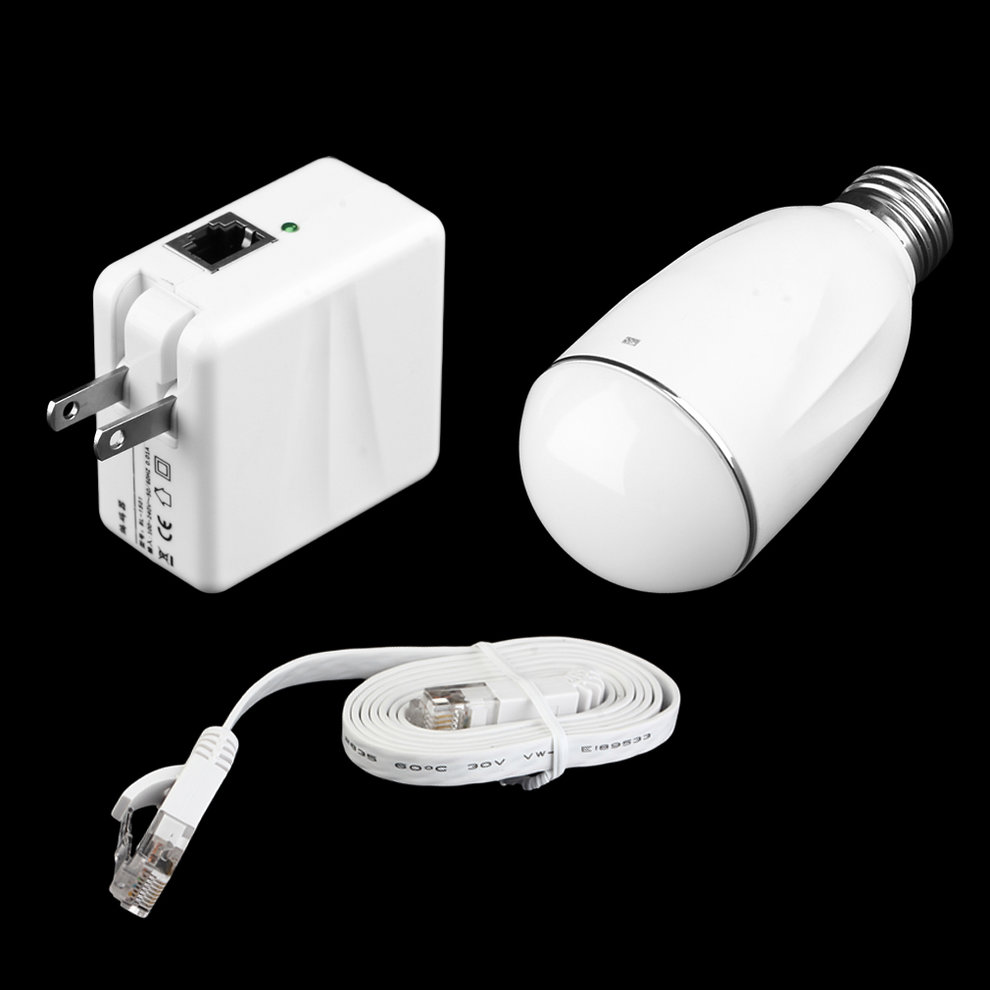 Practical 7W 300LM Light Bulb Set With WiFi & Power Transmission Function