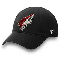 Arizona Coyotes Fanatics Branded Toddler Core Adjustable Hat - Black - OSFA